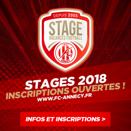 Stages vacances 2018