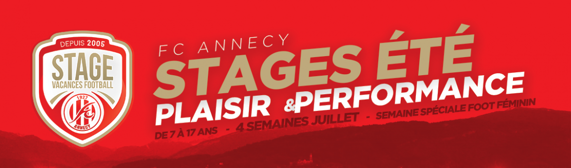 Stages vacances FC Annecy